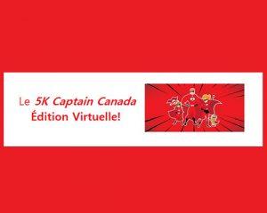 Porter L'Espoir Grâce Au 5K Captain Canada