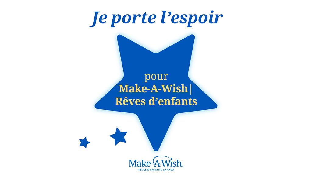 pour Make-A-Wish | Rêves d'enfants