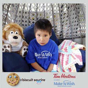 Campagne Biscuit Sourire de Tim Hortons